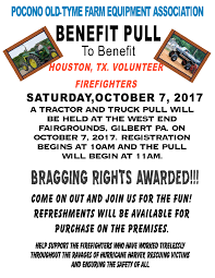 Pumpkin Patch Houston Tx Area by Benefit Pull To Benefit Houston Tx Volunteer Firefighters October