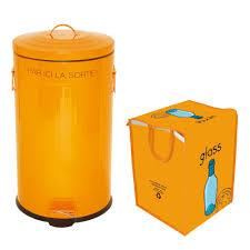 poubelle cuisine 50 litres pedale poubelle de cuisine à pédale en inox 50 litres bac de