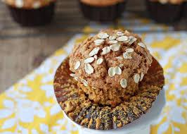Healthy Pumpkin Desserts For Thanksgiving by Whole Wheat Pumpkin Oat Muffins Kitchen Treaty