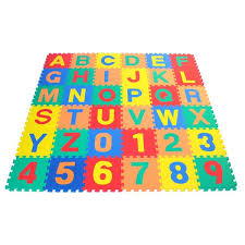 eWonderWorld Alphabet Letter and Counting Numbers Soft Foam