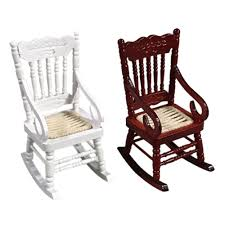 US $4.78 20% OFF New 1:12 Dollhouse Miniature Furniture White Wooden  Rocking Chair Hemp Rope Seat For Dolls House Accessories Decor Toys On  AliExpress Front Porch Of House With White Rocking Chairs On Wooden Two Wood Rocking Chair Isolate Is On White Background With Indoor Chairs Grey Wooden Northbeam Acacia Outdoor Stock Image Yellow Fniture Club By Trex In Photo Free Trial Bigstock Small Old Toy Edit Now Karlory Porch Rocker 100 Pure Natural Solid Deck Patio Backyard Living Room Black Isolated