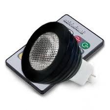 12v 3w rgb mr16 led light bulb color changing led spotlight