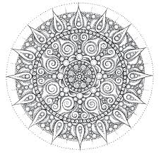 Free Mandalas Coloring Pages For Adults Mandala Printable Sheets Kids Get Latest Images Favorite Animals