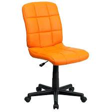 Orange Desk Chair Uk Orange fice Chair Pastel Chrome And