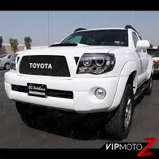 For 2005-2011 Toyota Tacoma HALO LED Projector Headlights Pre Runner ... 092014 F150 Raptor Recon Projector Headlights W Ccfl Halos Colossus Is Lit Up Led Pod Lights Rock Halo Youtube Oracle 0814 Dodge Challenger Wpro Halo Rings Bulbs Custom Lighting For Cars From Oracle Toyota Tundra Without Leveling System Tron Camaro Lights Ocala Customs 1416 Chevrolet Silverado 32015 Nissan Sentra Sedan Bixenon Hid Retrofit Fog Light Kit With 0718 Jeep Dna Motoring For 0306 Chevy Silveradocssicavalanche Drl 2x 3 Inch Round Blue Cob Angel Eyes