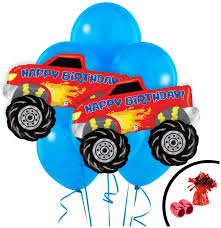 Monster Truck Jumbo Balloon Bouquet - PartyBell.com An Eventful Party Monster Truck 5th Birthday Possibilities Mr Vs 3rd Part Ii The Fun And Cake Jam Ultimate Pack Birthdays Pinterest John Deere Tractor Rolling Sinsweets After Dark Rentals For Rent Display Ideas At In A Box Shortcut 4 Steps Room Theme Monster Truck Grave Digger Bed From Real Parties Modern Hostess Supplies Cool Birthday Party Ideas Youtube Cre8tive Designs Inc