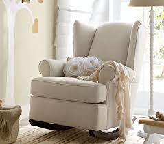 Pottery Barn Rocking Chair for Nursery Decorated Rocking Chair