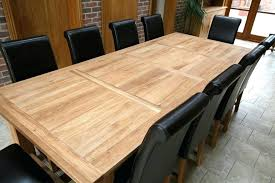 Large Dining Tables To Seat 12 Retro Kitchen Scheme With Regard Extra Long Table Seats Round
