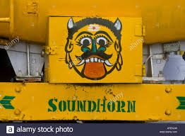 Demon And Sound Horn On The Back Of A Truck In Tamil Nadu South ... New 12v Metal Red Electric Bull Horn Super Loud Raging Sound W 12v Single Snail Tone Air Shell Siren Truck Car Horn Sound Effect Long Youtube Sound Effect Bus Lkw Hupe Sounds Mtb Mountain Road Cycling Bicycle Alarm Bell Bike 1x Auto End 11222018 330 Pm Convoy Horns Diagram Of Parts An Adjustable And Nonadjustable 1 Pair Vehicle In Case Of Fire Use The Air Horn Sign Bracket Buy Air Siren Get Free Shipping On Aliexpresscom Fork Lift Trucks Signs From Key Uk