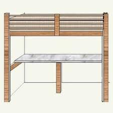 free diy woodworking plans for building a loft bed afloat ca u0027s