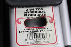 Duralast Floor Jack Instructions by Rally 2 1 4 Ton Hydraulic Floor Jack Property Room