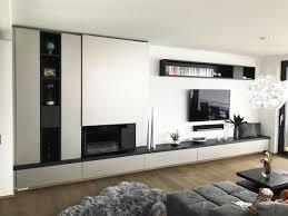 wohnzimmer in schwarz weiß möbel und inneneinrichtungen