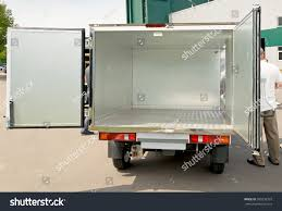 White Car Truck Tailgate Open Stock Photo (100% Legal Protection ...