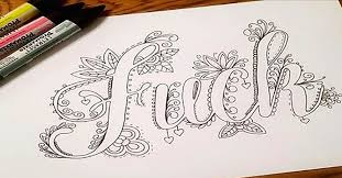 The Swear Words Coloring Book Is Here And Its Absolutely Brilliant