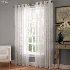 Crushed Voile Curtains Grommet by Royal Lace Grommet Curtain Panels