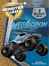 Monster Jam Megalodon Trucks Decal Pack - Walmart.com Monster Jam Giant Wall Decals Tvs Toy Box Bigfoot Truck Body Wdecals Clear By Traxxas Tra3657 Stickers Room Decor Energy Decal Bedroom Maxd Pack Decalcomania 43 Sideways Creative Vinyl Adhesive Art Wallpaper Large Size Funny Sc10 Team Associated And Vehicle Graphics Kits Design Stock Vector 26 For Rc Cars M World Finals Xvii Competitors Announced All Ideas Of Home Site Garage Car Unique Gift