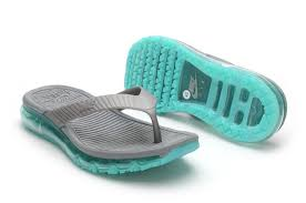 Buy Original Summer Men Nike Air Max Flip Flops Shoes Sandals UeBd6 OQS4 Slipper Beach Wading Gray Green