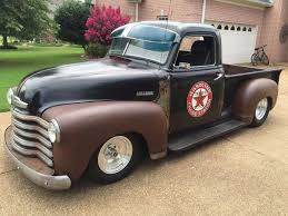 100 1951 Chevy Truck For Sale Chevrolet 3100 Pickup Shop Patina For Sale