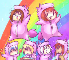 Pink Fluffy Unicorns By TalaSeba