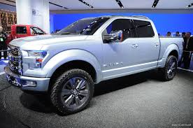 100 Concept Trucks 2014 Fords Atlas Previews The Future Of The Pickup Truck