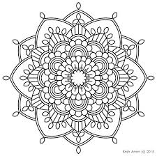 Printable Mandala Coloring Pages For Adults Free Mandalas