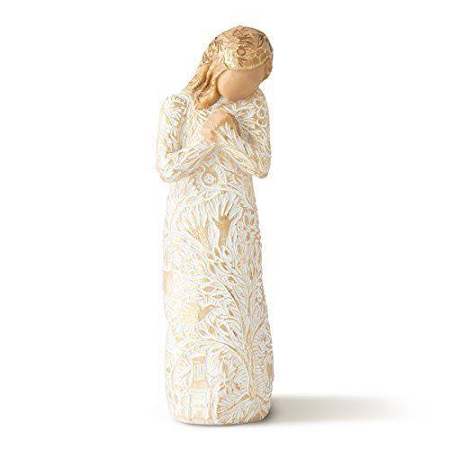 Willow Tree Woman Tapestry Memories Loved Figurine