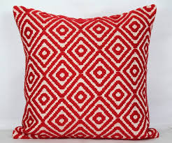 Red Throw Pillow Covers 24x24 Christmas Pillow Cover 20x20 Pillow