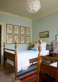 Vintage Bird Prints Above Bed From Sneak Peek Lucy Allen Gillis