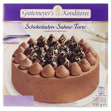 grotemeyer schokoladen sahne torte tiefgefroren 500 g