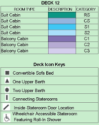 Celebrity Silhouette Deck Plan 6 by Celebrity Silhouette Overview