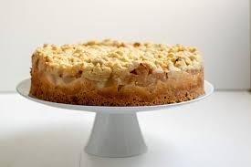 herbstbacken apfel pudding streusel kuchen kuchengeschichten