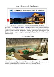 100 Homes In Bangkok Top Houses For Sale In Thailand By Thailand Property Issuu