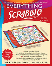 Super Scrabble Tile Distribution by Everything Scrabble Book By Joe Edley John Williams Official