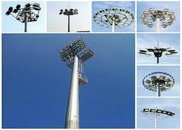 1000 Watt Hps Lamp Height by Height High Mast Tower Led Flood Light Pole Ith 1000w Hps Lamp
