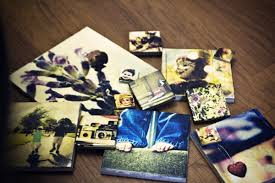 diy picture tiles you will never buy a photo frame again