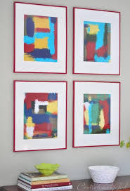 View In Gallery Abstract Wall Art Frames