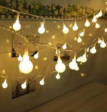 innoo tech 100 led globe string lights warm white linkable