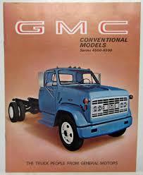1969 GMC Trucks Conventional Models Series 4500-6500 Sales Brochure