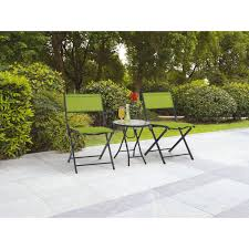 Mainstays Patio Heater Instructions by Mainstays Alexandra Square 3 Piece Outdoor Bistro Set Grey With