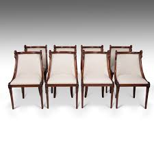 Superb Set Of 8 French 19th Century Empire Style Barrel Back Dining ... Baroque Ding Chair Black Epic Empire Set Of 6 Swedish Bois Claire Chairs 8824 La109519 Style Maine Antique Fniture Ruby Woodbridge Arm Stephanie Side Shown In Oak With An Asbury Brown Finish Amish 19th Century Walnut Burl Federal Cane Seat Six Gondola Barstool 210902427 Barchairs And Leather The Khazana Home Austin Crown Mark 2155s Upholstered Casa Padrino Luxury Armrests