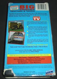 100 Videos Of Big Trucks Tractors Trains VHS 1994 084296059782 84296059782 EBay