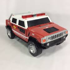 100 Tonka Fire Rescue Truck TONKA Funrise Hummer H2 Suppression Vehicle 4114