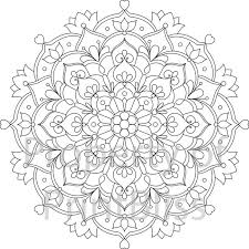 Collection Of Solutions Printable Mandala Designs To Color With Additional Template