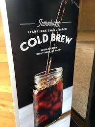 Starbucks Black Iced Coffee Cold Brew