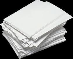 2466x1981 Messy Paper Stack Transparent PNG