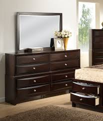 Zayley Dresser And Mirror by Roundhill Furniture