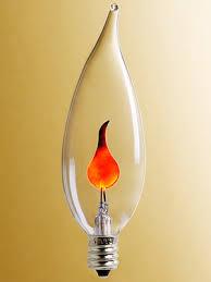 candelabra base flickering light bulb 3 watt house of