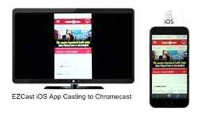 EZScreen FREE App Make Your Chromecast a Mirror TV for iPhone