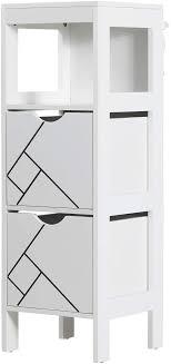 dictac badezimmer kommode badschrank mit 2 schubladen 30 x