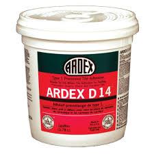 ardex d 14 type 1 premixed tile adhesive 3 5 gallon mastic